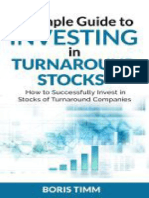 A Simple Guide to Investing in Turnaround Stocks_ How to Successfully Invest in Stocks of Turnaround Companies