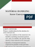 Material Handling Sc 3.3.2019