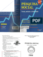 Pesquisa Social Teoria Método e Criatividade
