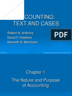 Accounting Text and Case