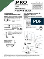 Silicone Seals