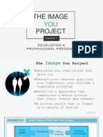 Developing Professional Presence (The Image You Project)