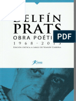 Obra Poética (1968-2013) - Delfín Prats