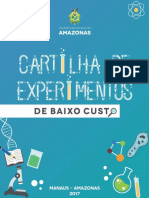 Cartilha de Experimentos de Baixo Custo SEDUC-AM