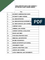 Legal Journal HPC