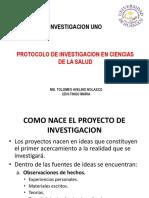 Protocolo de Investigacion en Ciencias de La Salud 2019