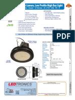 LEDtronics High Bay Light HBL005-x00W-XPW-101WD