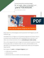 5 Tips Para Crear Las Mejores Imágenes Para Facebook