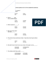 A test from Simplified Grammar of English