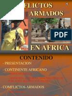 Conflictos Armados de Africa