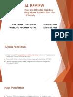 Critical Review Parametrik