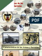 11 Caracteristicas de Las Armas y Servicios