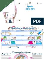 Agenda Del Docente 2018-2019