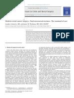 [Artigo] Modern Rectal Cancer Surgery - Total Mesorectal Excision - The Standard of Care; Grimm (2013)