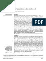 [Artigo] Reconstrução anatômica da cicatriz umbilical; Donnabella (2013)