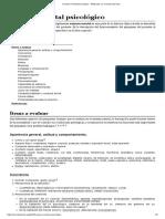 Examen Mental Psicológico - Wikipedia, La Enciclopedia Libre