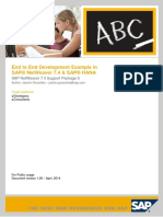 ABAP 7 4 for SAP HANA End to End Development Guide With Ls