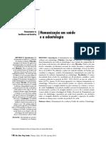 Humanização em saúde e a odontologia