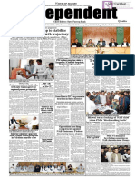 Daily Independent Quetta - 26 May 2019