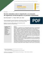 Revision sistemática sobre la implantación y la evaluación del seguimiento farmacoterapéutico en pacientes hospitalizados.pdf