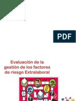 Evaluación de la gestión de los factores de riesgo Extralaboral.pptx