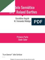 Modelo semiotica general Roland Barthes