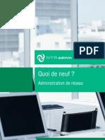 NTRadmin Administration a Distance Quoi de Neuf 1009