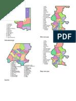 Municipios de Guatemala Mapas
