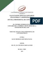 Control Interno Empresa Depaz Palma Yhosselin Lizet