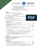Barem Clasa a XII-A 2015 - Alba 2015 - Olimpiada Matematica