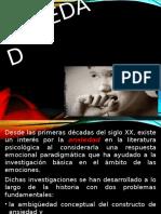 Ansiedad y Trastornos 2019. DSM IV