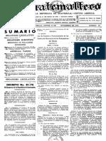 Ley de Creación y Funcionamiento de Los Centros de Recreación de Los Trabajadores Del Estado Decreto No. 81-70