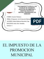 El Impuesto de La Promocion Municipal Exposición