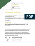 Ventajas y Desventajas Del Gas Natural