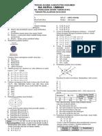 Soal Kimia Kelas x Dan Xi
