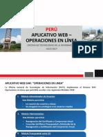 Aplicativo Web - Operaciones en Línea - Versión 14112016