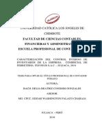 Control de Inventarios Control Interno Ferreteria Condori Gonzales Delia Beatriz