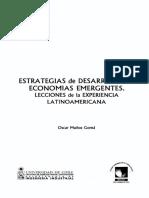 Muñoz, Ó. Estrategias de Desarrollo en Economías Emergentes.