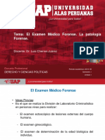 examen medico forense