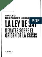 La ley de Say - Adolfo Rodríguez Herrera.pdf