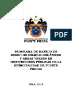 Programa Ambiental Colegios