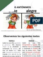 Los Antónimos - Comunicación 6º