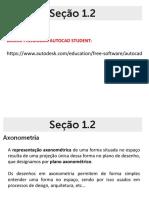 28-02-19- Geometria Descritiva Para Arquitetura II
