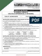 Álgebra Linear e Cálculo - IfRN - 2009