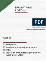 Vaccine Preventable Diseases (08)