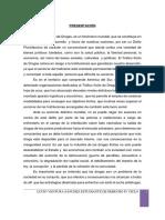 Monografia Tráfico Ilícito de Drogas
