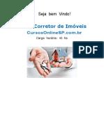 Curso Corretor de Imoveis Sp 63037