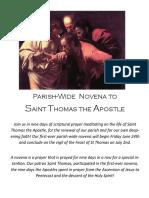 St T Novena PDF Version
