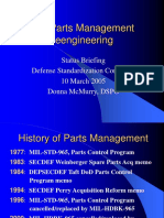 McMurry, Donna (March 10th, 2005)_DoD Parts Management Reengineering