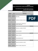 Agenda Seminario ASHRAE 2019
